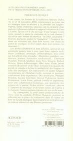 Vingt-Troisiemes Assises De La Traduction Litteraire - 4ème de couverture - Format classique