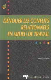 Dénouer les conflits relationnels en milieu de travail - Intérieur - Format classique