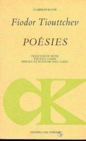 Poesies - Couverture - Format classique
