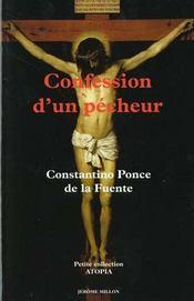 La confession d'un pecheur - Intérieur - Format classique