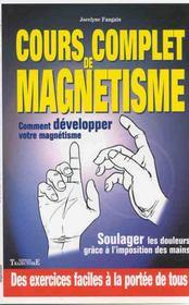 Cours Complet De Magnetisme - Intérieur - Format classique