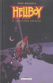 Hellboy t.7 ; le troisième souhait - Intérieur - Format classique