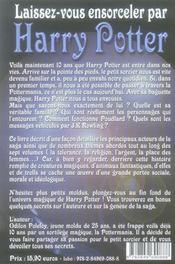 Laissez-vous ensorceler par Harry Potter - 4ème de couverture - Format classique
