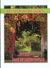 Planter des haies, brise-vent, bandes boisées, bosquets - 4ème de couverture - Format classique