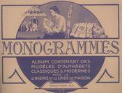 Monogrammes. Album N 2 - Intérieur - Format classique