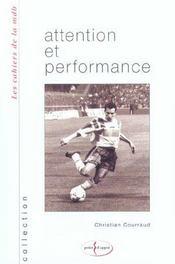 Attention Et Performance - Intérieur - Format classique