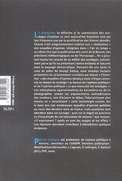 Subunda ; Coups De Sonde Dans L'Ocean Des Sondages - 4ème de couverture - Format classique