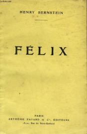 Felix. - Couverture - Format classique