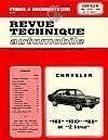 Rta 306.3 Chrysler 160-1610 Et 180 (1971/1978) - Couverture - Format classique