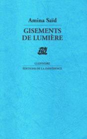 Gisements De Lumiere - Couverture - Format classique