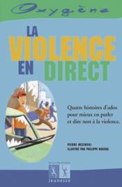 Violence En Direct (La) - Couverture - Format classique