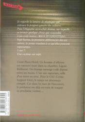 Le prédateur - 4ème de couverture - Format classique