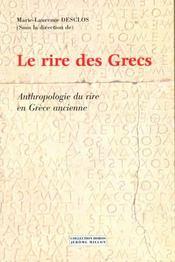 Le Rire Des Grecs - Intérieur - Format classique
