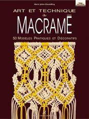 Art et technique du macramé - Intérieur - Format classique