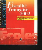 Fiscalite Francaise 2002 - Couverture - Format classique