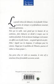 Le boulanger de saint-laurent - 4ème de couverture - Format classique