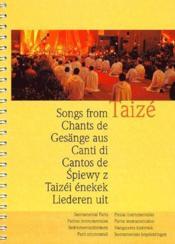 Les chants de Taizé ; parties instrumentales - Couverture - Format classique