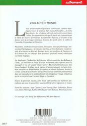 Monde N.91 Et N.92 Lieux D'Islam Cultes Et Cultures De L'Afrique A Java - 4ème de couverture - Format classique
