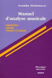 Manuel d'analyse musicale t2 - Intérieur - Format classique