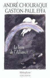 Vente  Le Livre De L'Alliance  - Andre Chouraqui - Gaston-Paul Effa