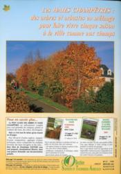 Petit guide des arbres et haies champêtres - 4ème de couverture - Format classique