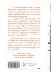 Le papalagui ; les propos de Touiavii, chef de la tribu de Tiavéa, dans les mers du sud - 4ème de couverture - Format classique