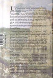 Sortir De L'Entreprise Capitaliste - 4ème de couverture - Format classique