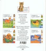Connais-tu le petit canard - 4ème de couverture - Format classique