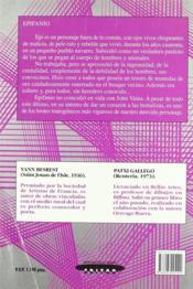 Epifanio Et John Vaina - 4ème de couverture - Format classique