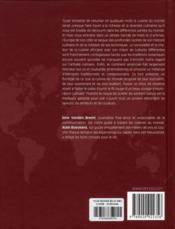 Le tour du monde en 80 recettes & vins - 4ème de couverture - Format classique