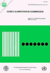 Report of the 21st session of the joint fao-who codex alimentarius commission ; rome 1995 - Couverture - Format classique
