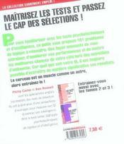 101 tests psychotechniques, de logique et d'intelligence t.1 - 4ème de couverture - Format classique