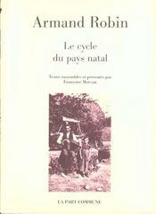 Le Cycle Du Pays Natal - Intérieur - Format classique