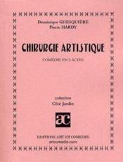 Chirurgie artistique - Couverture - Format classique