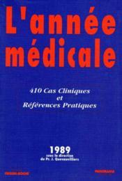 Annee medicale 89 - Couverture - Format classique