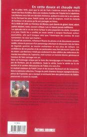 Luis mariano, une vie ; entretien avec Roberto Alagna - 4ème de couverture - Format classique