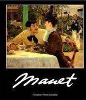 Manet 1996/Broche - Couverture - Format classique