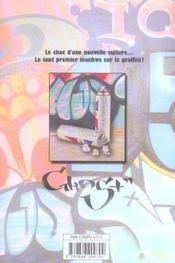 Graffiti t.1 - 4ème de couverture - Format classique