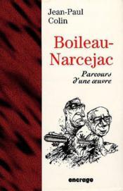 Boileau-Narcejac/Parcours D'Une Oeuvre - Couverture - Format classique