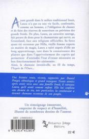 L'esprit de l'ours ; chemin de vie d'une chamane inuit contemporaine ; croyances et magie inuit - 4ème de couverture - Format classique