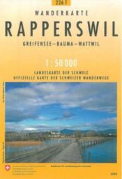 Rapperswil pédestre - Couverture - Format classique