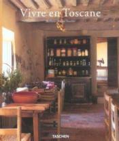 Vivre en toscane - Couverture - Format classique