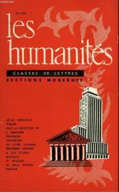 Les Humanites - Classe De Lettres Sections Modernes - Mai 1962 - Couverture - Format classique