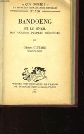 Bandoeng Et Le Reveil Des Anciens Peuples Colonises - N°910 - Couverture - Format classique
