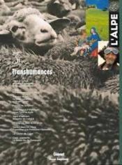 L'Alpe 03 - Transhumances - Couverture - Format classique