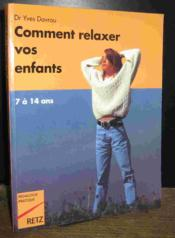 Comment relaxer vos enfants - Couverture - Format classique