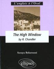 The High Window By R.Chandler - Intérieur - Format classique