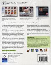 Ilife 6 apple training séries - 4ème de couverture - Format classique