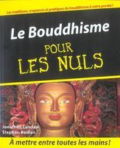 Le bouddhisme pour les nuls - Intérieur - Format classique