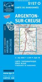Argenton-sur-Creuse - Couverture - Format classique